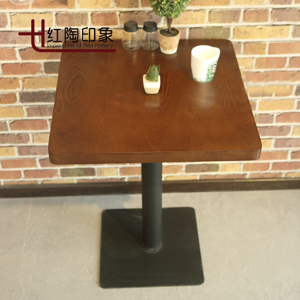 Restaurant Chairs And Tables Us 198 Restaurant Tables And Chairs Dessert Tea Shop Cafe Chairs Chairs Western Wood Color Table Two Chairs في Restaurant Tables And Chairs