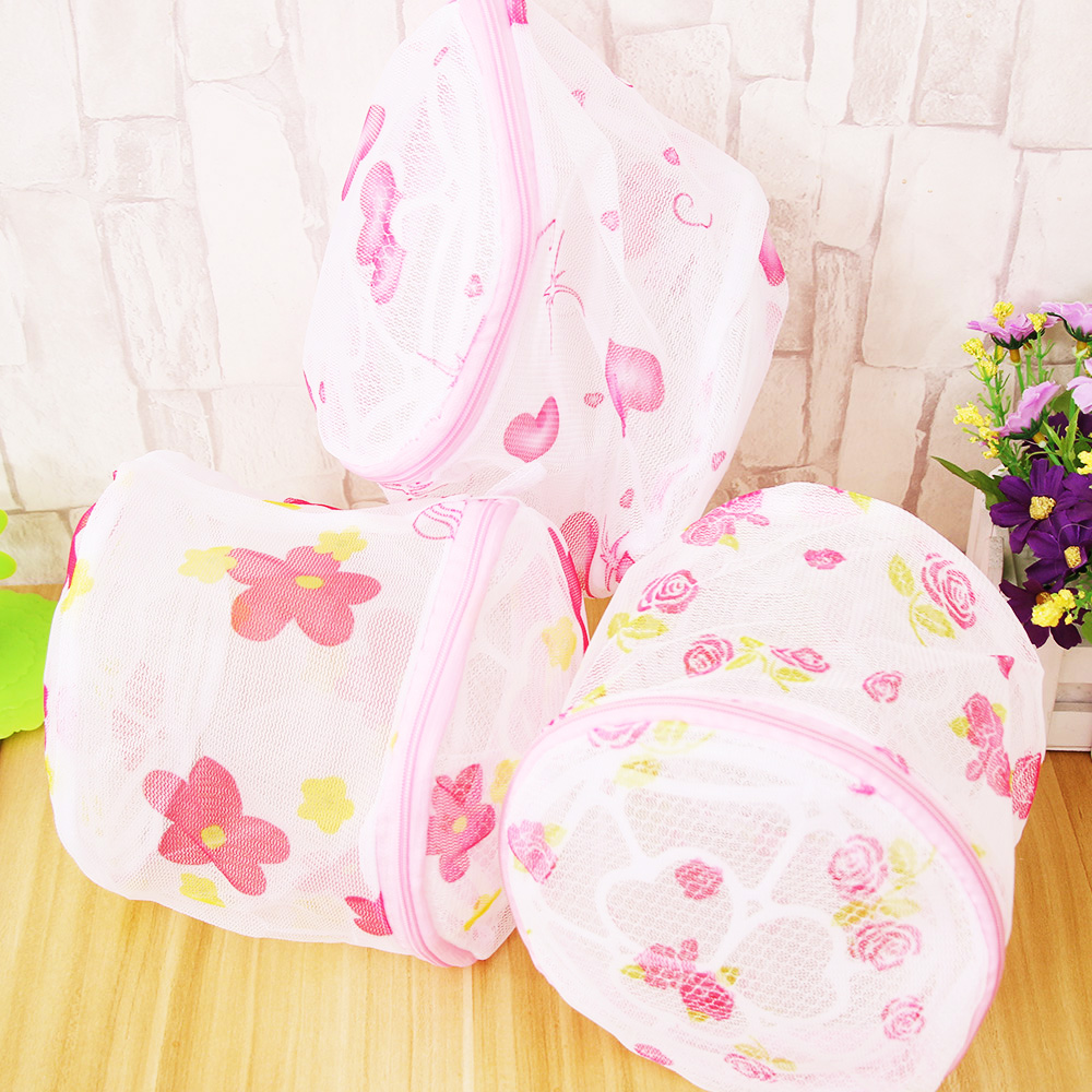 New 1 pc Bra Washing Lingerie Foldable Protecting Mesh Bag Aid Laundry Saver Necessaire Women Hosiery