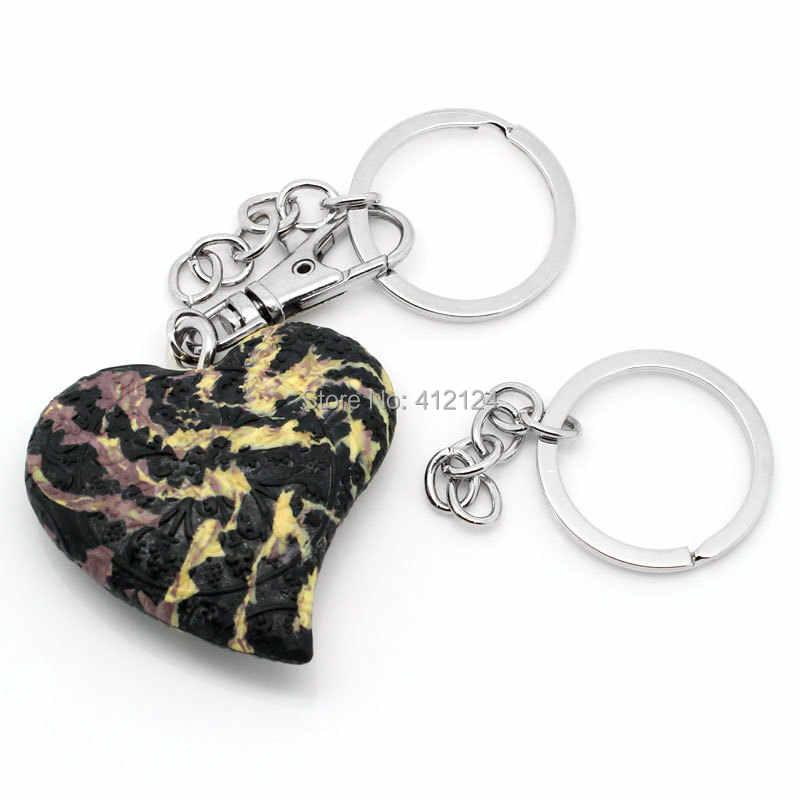 """50 Pcs nada sepotong gantungan kunci, & Gantungan kunci perhiasan, Membuat temuan pesona, 6.8 cm ( 2 5/8 """" )"""