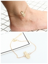 Bohemian Beads Ankle Bracelet for Women Leg Chain Round Tassel Anklet Vintage Foot Jewelry Accessories Beach Jewelry vintage tassel engraved round arm chain for women