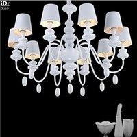 Nordic Iron retro pastoral Mediterranean creative personality living room lamp restaurant Chandeliers Luxury lamp