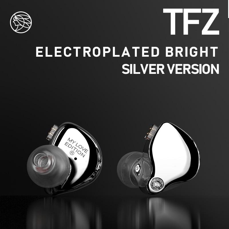 TFZ fone de ouvido Em Ouvido, Duplo Magnetic Circuit Unidade de Bobina Móvel, mylove Edição Qualidade do Som Baixo Pesado Fone de Ouvido Música 55Ω