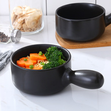 Casserole casserole pot heat resistant single handle small milk auxiliary food baby pan noodle Han style