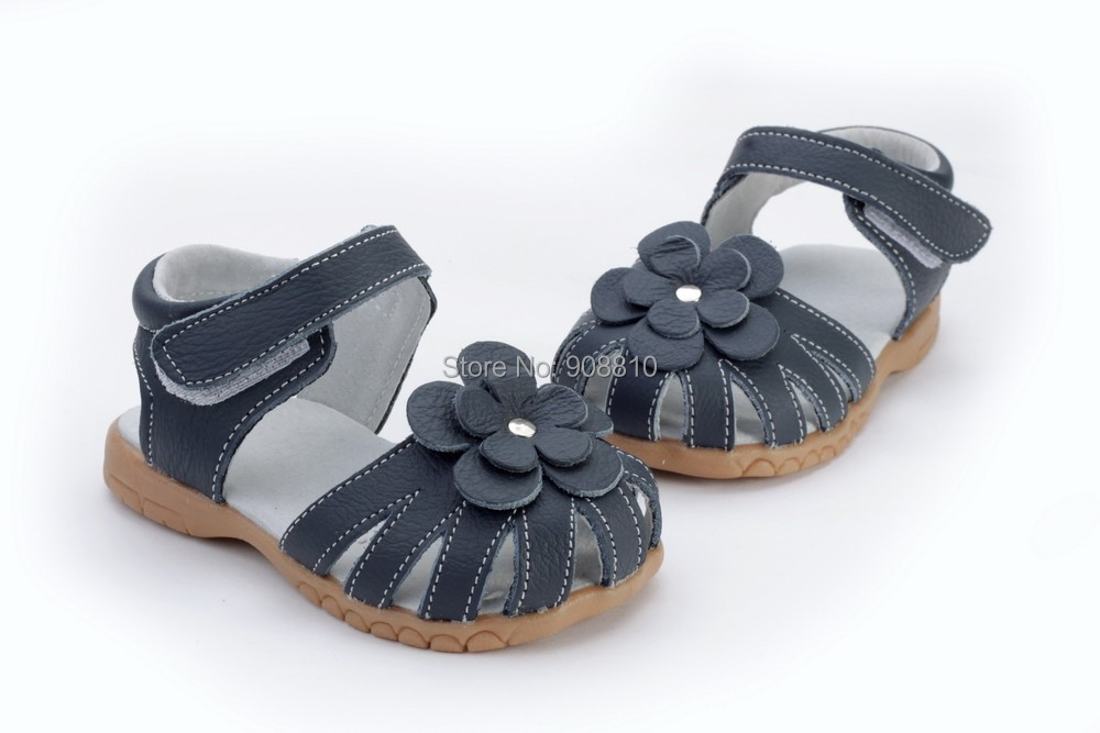 2019 novas meninas de couro genuino sandalias 01