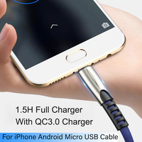 cable samsung USB Type C Cable For Huawei Samsung Xiaomi USBC Mobile Phone Cable Fast Charging TypeC 3M Long Wire Cable For USB Type-C Devices (2)