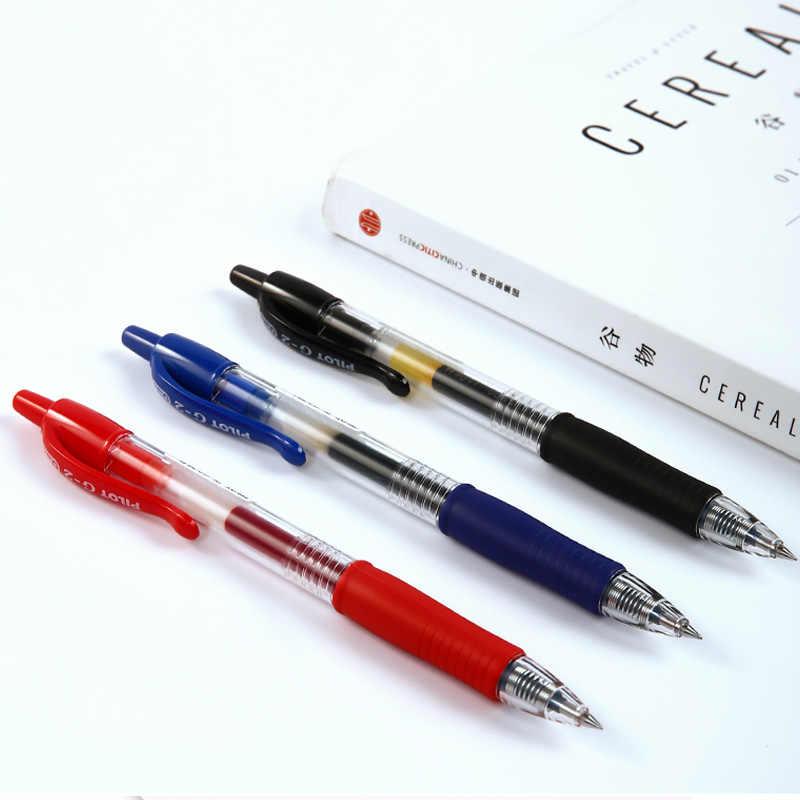 PILOT Baile G-2 typ prasy długopis żelowy 0.5mm 0.38mm 0.7 egzamin biurowy Student multi-standard