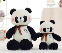 160 см 2018 Горячая распродажа! мягкие игрушки Симпатичные панды подушку Симпатичные мягкие для младенцев подруга 63 дюймов плюшевые игрушки дл