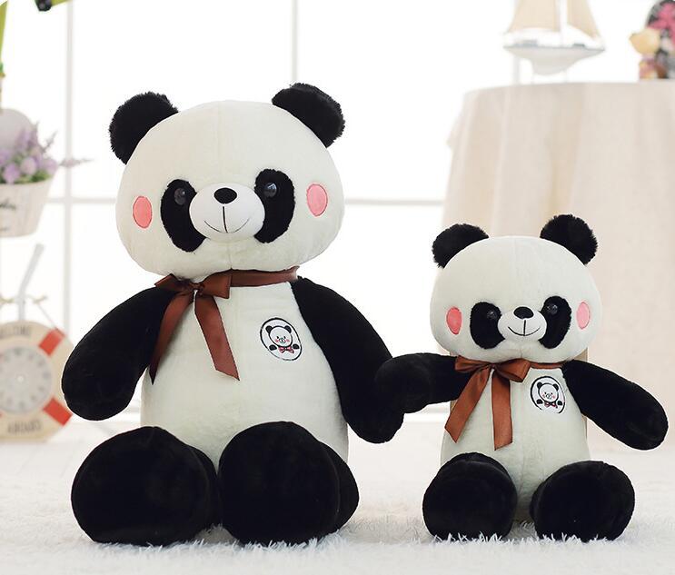 160 cm 2018 hot-vente doux jouets mignon panda oreiller mignon animaux en peluche pour bébés petite amie 63 pouces jouets en peluche pour mère cadeau