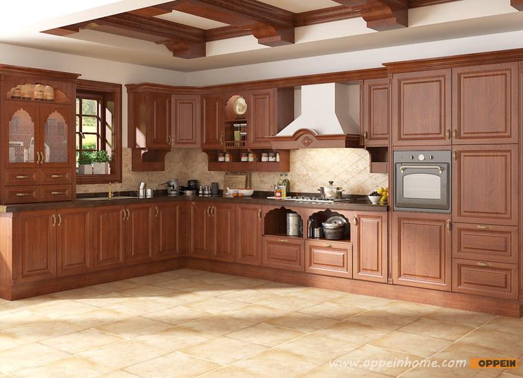 Guangzhou Self Assemble Modern Design Indian Kitchen Cabinets Op15
