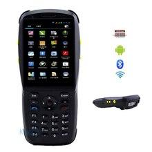 """Bluetooth Barcode Scanner Android 1D 2D Laser Robuste Terminal De Données Portable 3.5 """"PDA NFC 3G Collecteur de Données Portable Wifi téléphone"""