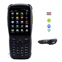 Bluetooth Barcode Scanner Android 1D 2D Laser Rugged Handheld Data Terminal 3.5 PDA NFC 3G Data Collector Wifi Cell phone