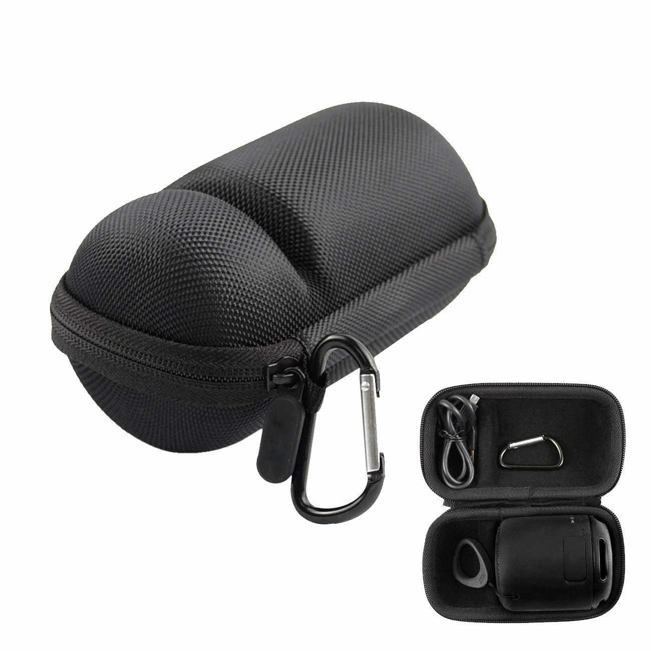 Viagens EVA PU Caixa Caso Capa Proteja Pouch Storage Bag Bolsa de Transporte para Sony SRS-XB10 Portátil Sem Fio Bluetooth Speaker