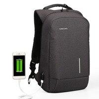 Kingsons Backpack Women Men 13 15 USB Charging Anti Theft Backpacks For Teenager Girls Boys Mini