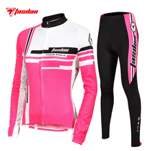 Tasdan Custom CoolMax GEL Pad Moisture Absorption Perspiration and Fast Drying Woman Cycling Jerseys Sets