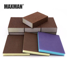 MAXMAN Sponge sand block Woodworking polishing Elastic grind