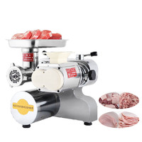 Beijamei kitchen appliance electric meat mincer price beef grinder commercial meat slicer meat grinding slicing machine