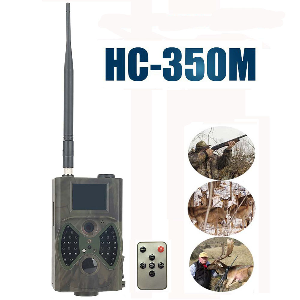 16MP Trail Hunting Camera GPRS MMS SMTP SMS 1080P Video 940nm Night Vision Scouting Game Wildlife Camera Trap HC350M hc500m hd gsm mms gprs sms control scouting infrared trail hunting camera hc 500m