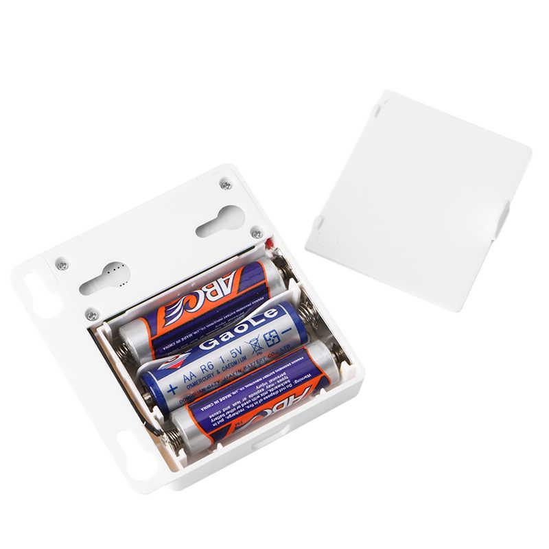 Baterai AA Power Supply Inframerah PIR Motion Sensor Beralih Untuk 5 V LED Strip Cahaya L15