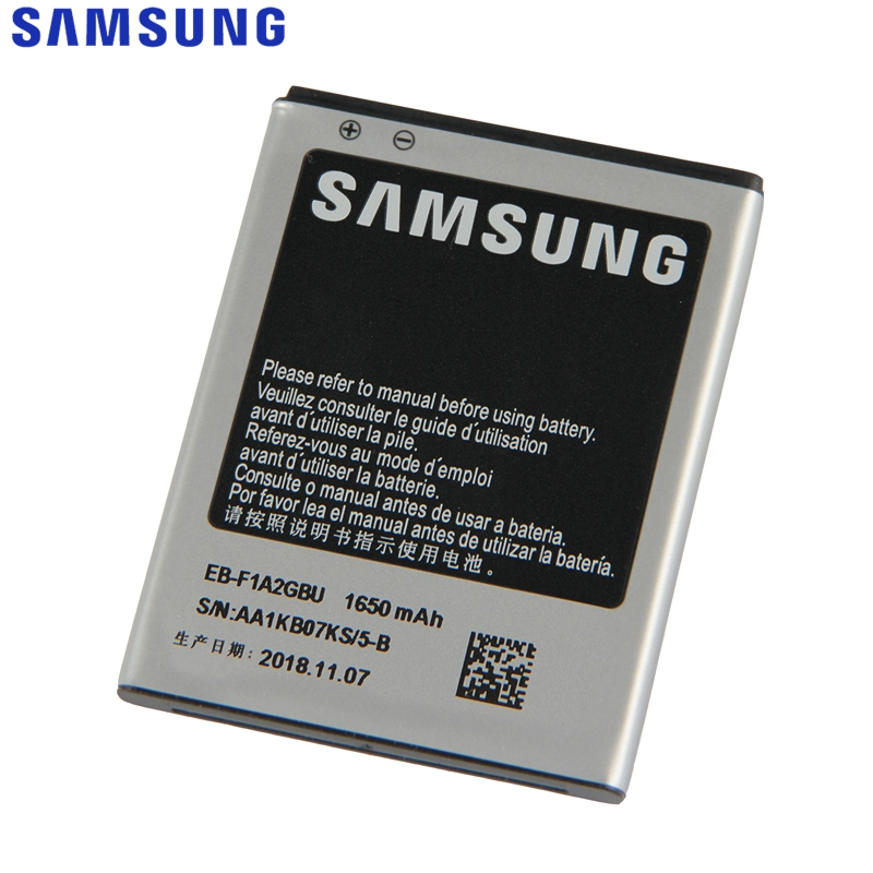 Samsung Battery I9100 Galaxy S2 EB-F1A2GBU Replacement 1650mah Original For I9050/B9062/I9108/..