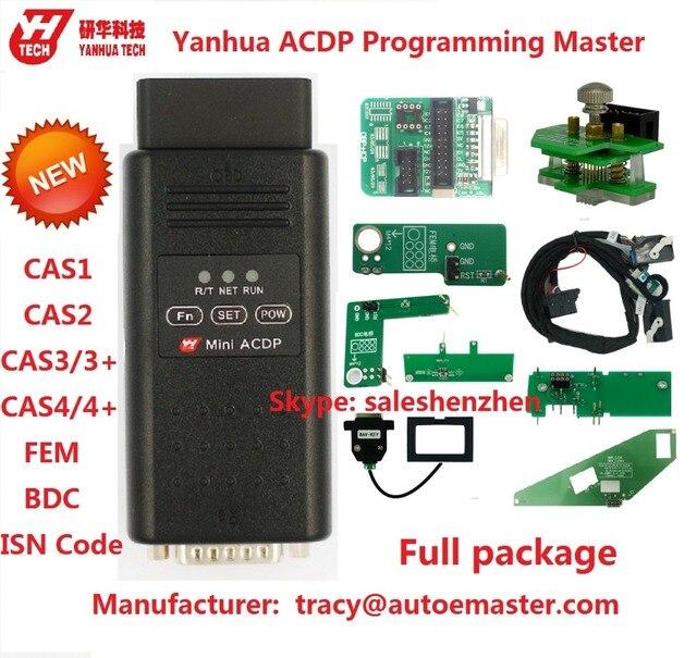 yanhua mini acdp programming master support bmw cas fem bdc key program  without soldering refresh key