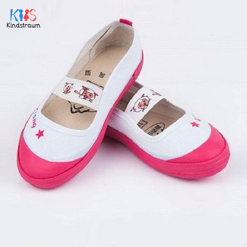 2018 New Arrival Children Canvas Shoes Brand Boys & Girls Dance Shoes Rubber Bottom Spring & Autumn Casual Shoes For Kids,RJ460