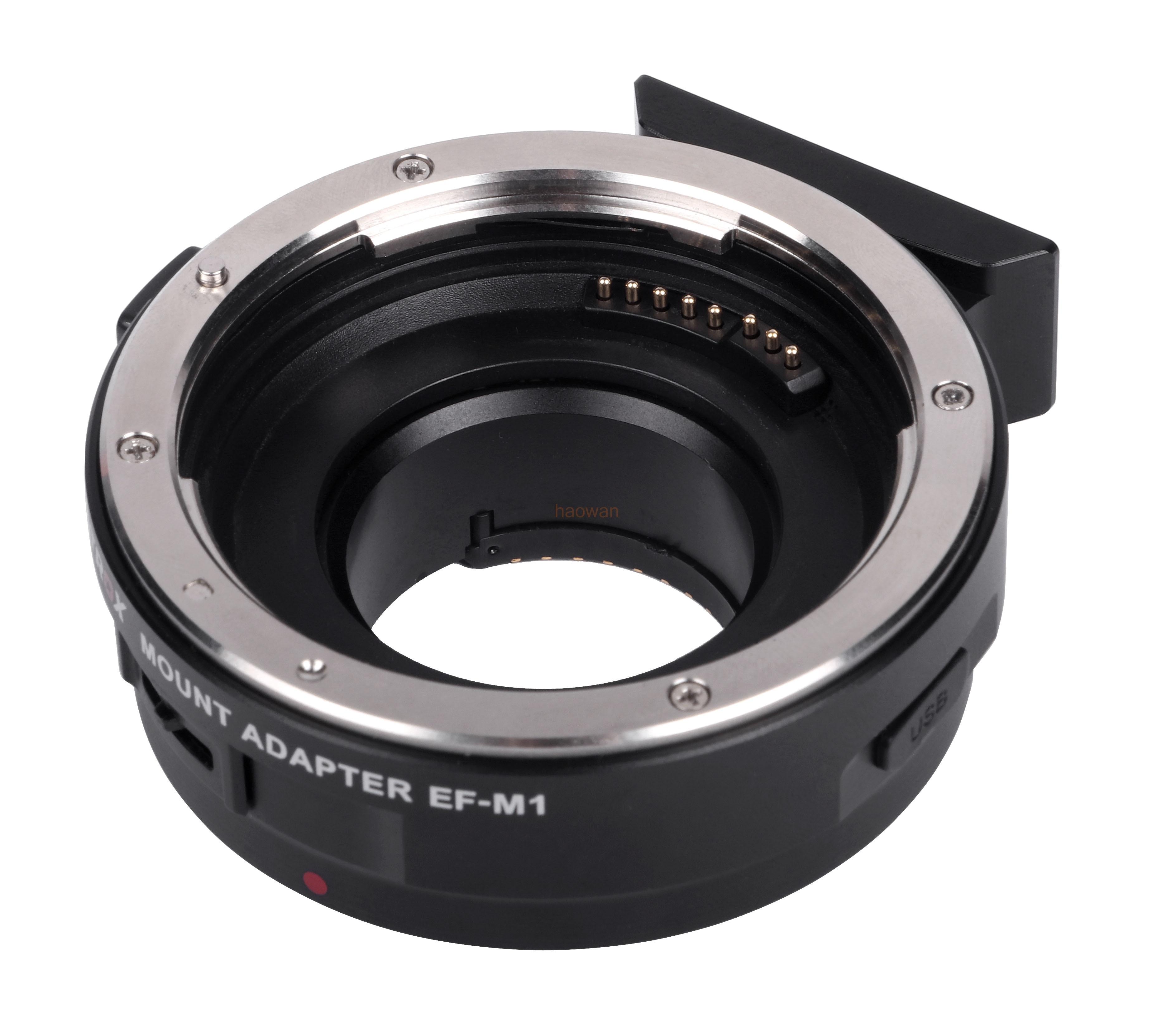 ef-m43 Auto Focus EF Lens to Micro M 4/3 M43 adjustable aperture Adapter ring for G1 G3 GH1 GH4 GM1 GX7 GF6 GF5 EM1 EM10 camera commlite cm ef mft electronic aperture control lens adapter for ef ef s lens m4 3 camera
