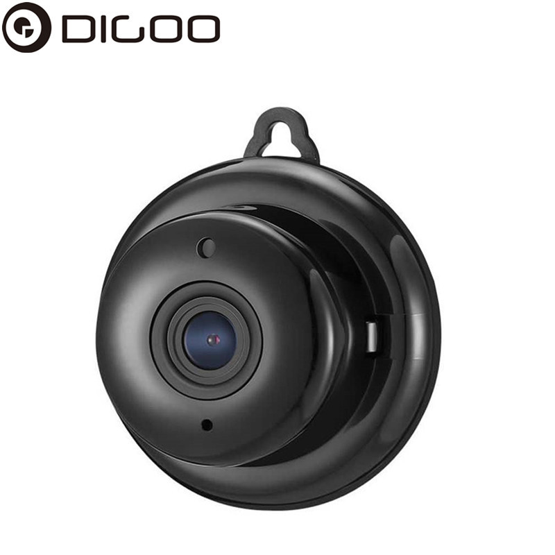 DIGOO DG MYQ 2 1mm Lens 720P font b Wireless b font Mini WIFI Night Vision
