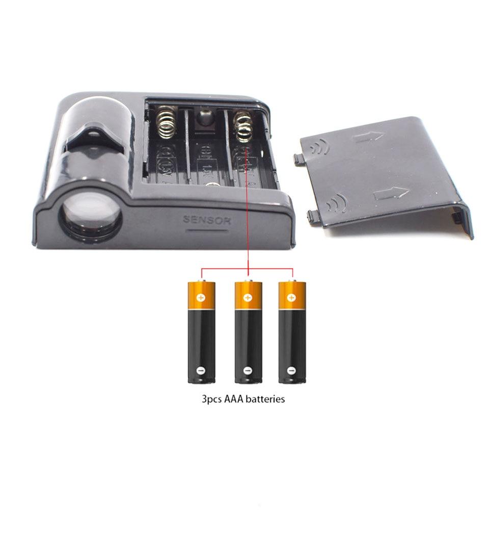 Battery Powered Cartoon Logo Batman LED Car Door Light 3D Laser Projector Lamp Auto Decoration Lighting Bulb Stick On Car (12)
