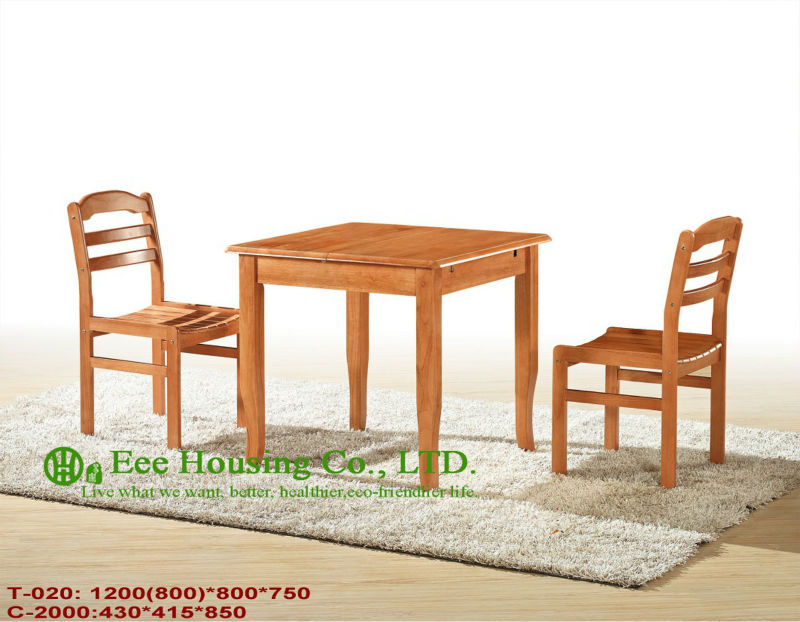 C-2000,T-020  Luxurious Solid Dining Chair,Solid Wood Dinning Table Furniture With Chairs/Home Furniture
