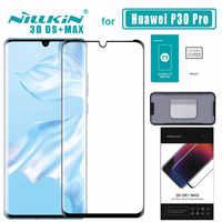 P30 pro 3D DS + Max Volle Abdeckung für Huawei P30 Pro Glas Gehärtetem Glas Screen Protector Runde Kante P30 pro Nilkin HD Glas Film