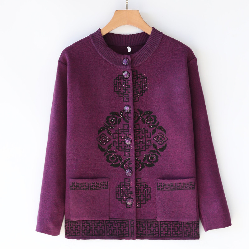 Sweaters Women Winter 2019 Cardigan Casual Sweater Women Loose Spring And Autumn Pink Blue Purple Winter Clothes Women