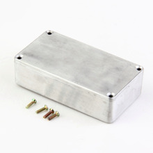 1PCS 1590B/ Style Guitar Effects Pedal Aluminum Stomp Box Enclosure for DIY Kit