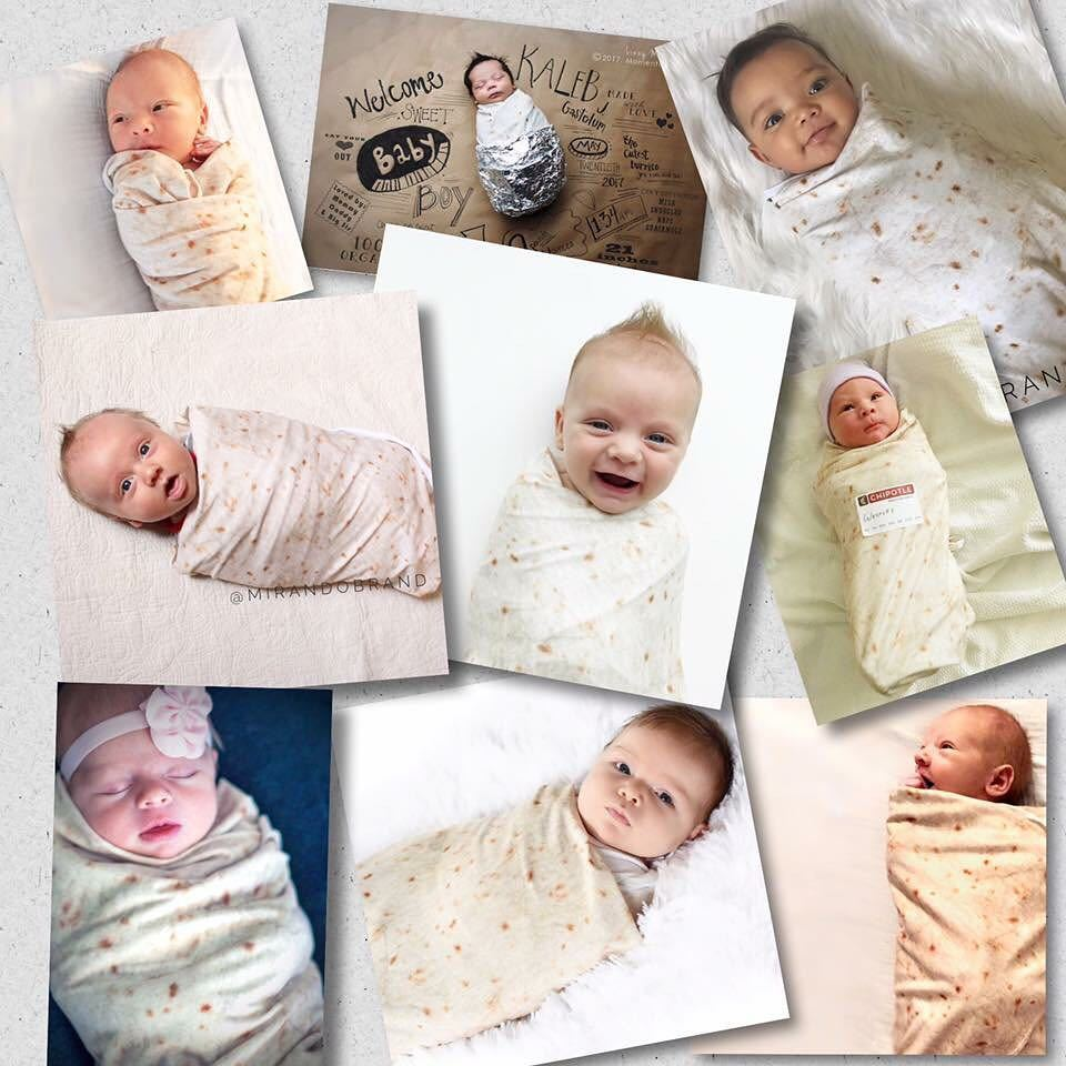 Infant Soft Flannel Blanket For Wrapping Children Bedding Round Swaddles For Infant Baby Kids Warm Blanket For Out Going 120cm