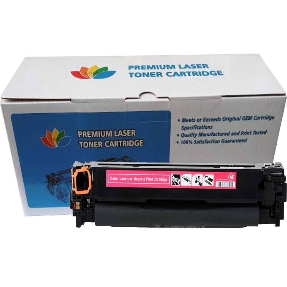 Cartouche de Toner Compatible COAAP CF540A 203A pour HP Color LaserJet Pro M254dw 254nw MFP M281cdw 281fdw 280nw (avec puce) - 3