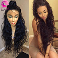 8A Lace Front Human Hair Wigs Brazilian Human Hair wigs Glueless Full Lace Wig in Natural baby hair hairline Lace Front Wig