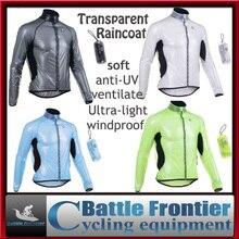 transparent/soft/light/compressed/multifunction cycling windproof bicycle jacket/raincoat autumn rain coat waterproof mens'
