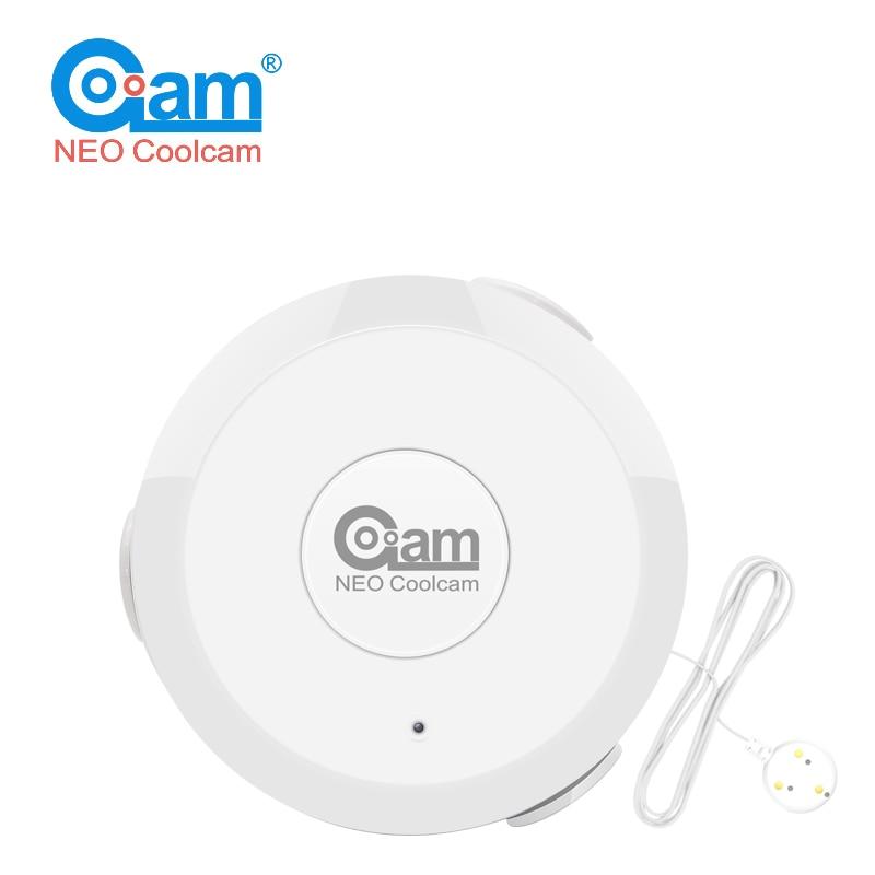 NEO COOLCAM Z Wave Flood NAS-WS01Z Water Leak Alarm Sensor Water Leakage Sensor Z-wave Sensor Alarm Home Automation System EU ve цена