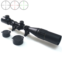 Meilleur 4-16×44 AOEYS En Plein Air Chasse lunettes de Visée lumineux Tactique Optique Sight Portée Avec L'extinction Tube Pour Le tir