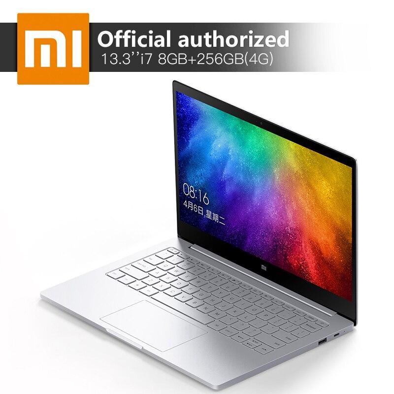Original Xiao mi ar Notebook Intel Core Mi 8 gb DDR4 i7-7500U 13.3 ''256 gb ssd computador 940 M X 1 gb GDDR5 Windows10 4g Laptop