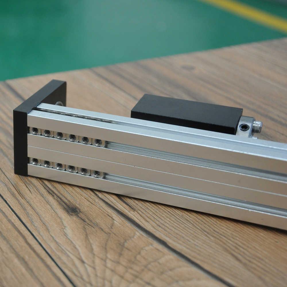 Prowadnica liniowa CNC etap szyny ruchu tabeli slajdów śruby kulowej siłownik Nema 23 moduł silnika dla 3d części drukarki XYZ najczęściej oglądane- ramię robota zestaw