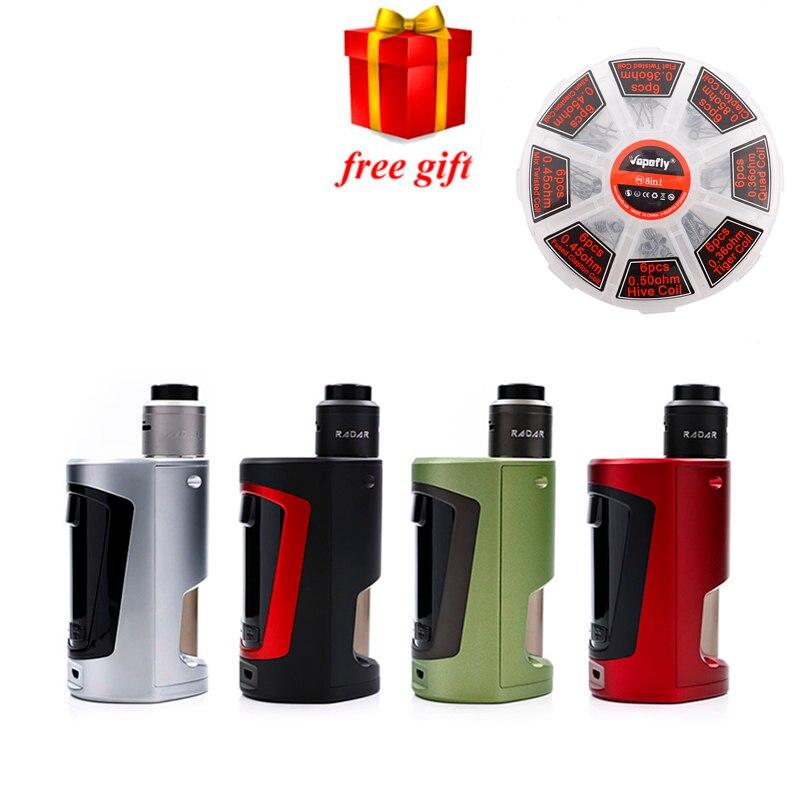 Freie geschenk Original Geekvape GBOX Squonker kit Angetrieben durch 2 18650 batterien mit Radar RDA 8 ml Squonk flasche