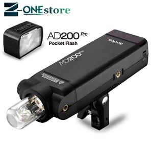 Image 2 - Đèn Flash Godox AD200pro 200Ws Ngoài Trời Sáng AD200 PRO Bỏ Túi Sáng cho Sony Nikon Canon Fuji TTL HSS 2.4G không dây X Hệ thống