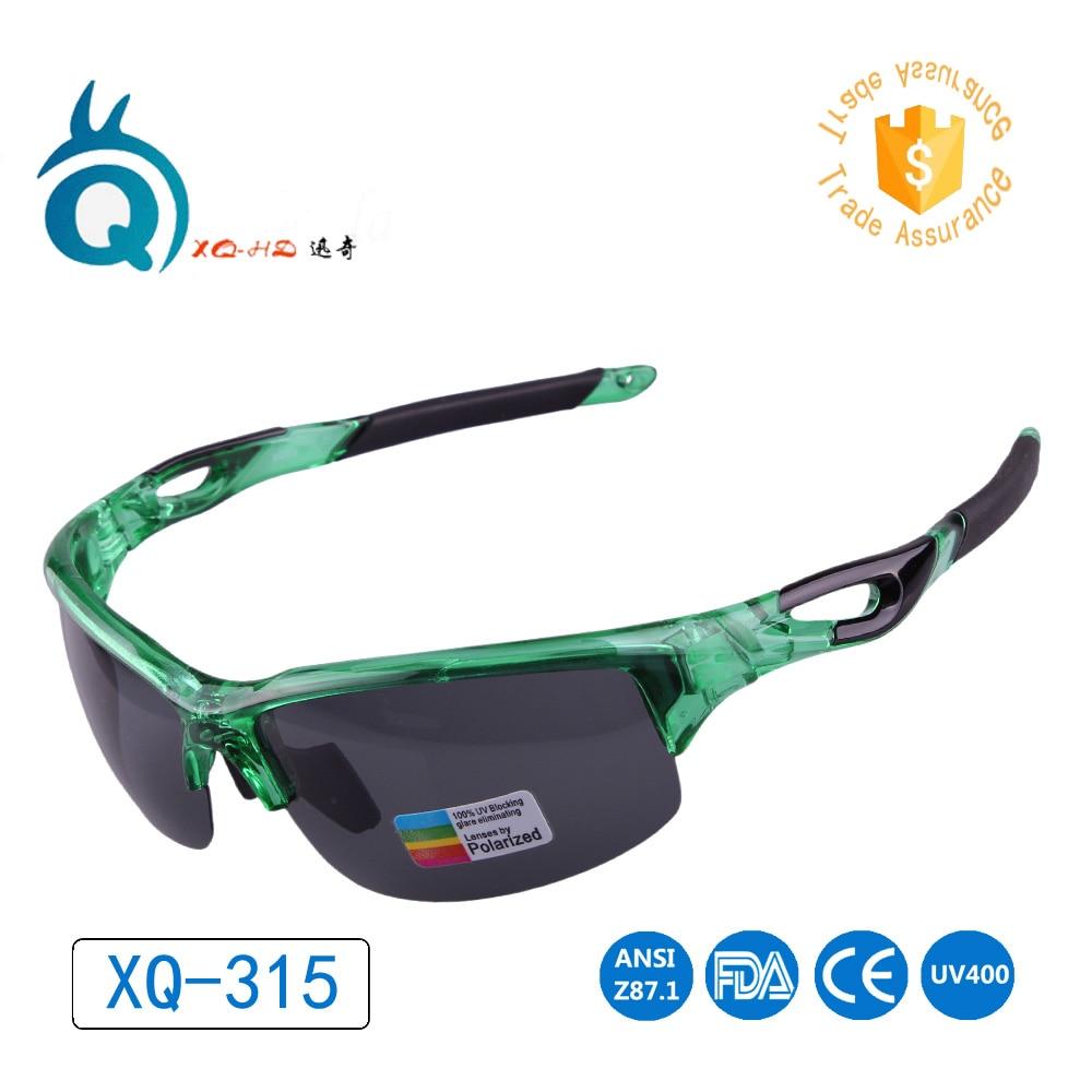 Jaunāko izstrādājumu sporta saulesbrilles vīriešiem UV400 Ūdens apdrukas zaļās brilles āra sporta polarizētās saules brilles