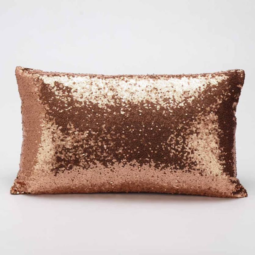Cojines Sofa Chocolate.Us 2 69 36 Off Kussensloop 2018 Sequins Sofa Bed Cojines Soft Sofa Home Decoration Big Pillow Decorative Pillows Cushion Home Decor In Cushion Cover