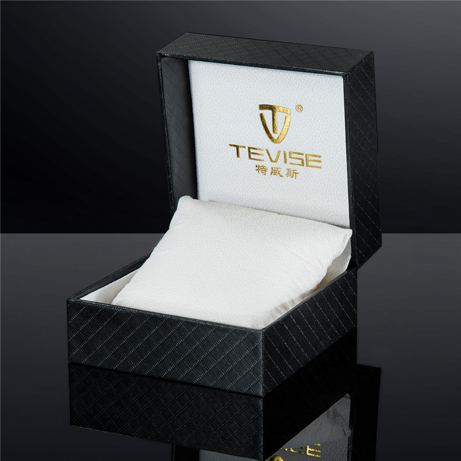 Luxury Gift Watch Boxes Original Tevise Box for Watch Fashion PU Box Free Ship