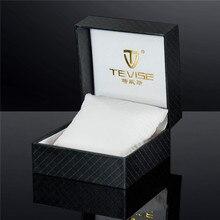 Cadeau de luxe Montre Boîtes D'origine Tevise Boîte pour Montre De Mode PU Boîte Libèrent Le Bateau