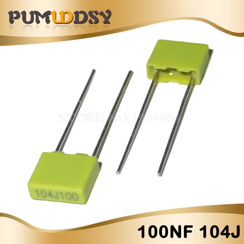 50PCS 100V 104J 100NF 0.1uf Correction capacitors NEW