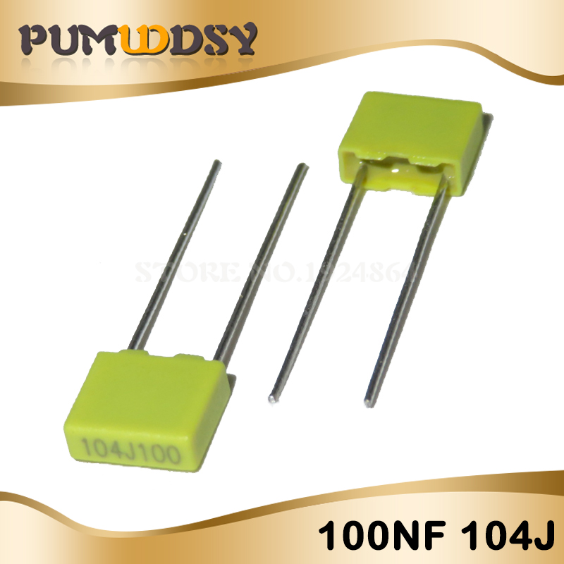 50PCS 100V 104J 100NF 0.1uf Correction capacitors