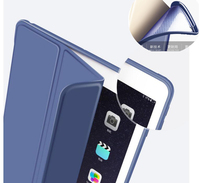 Nice Quality Stable Support Stand Bling Leather Smart Case For Apple Ipad Air 2 Case Cover