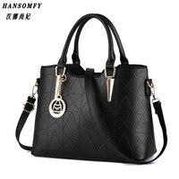 HNSF 100 Genuine Leather Women Handbags 2017 New Sweet Lady Temperament Female Bag Fashion Handbags Shoulder